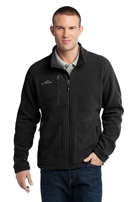 Eddie Bauer - Wind Resistant Full-Zip Fleece Jacket