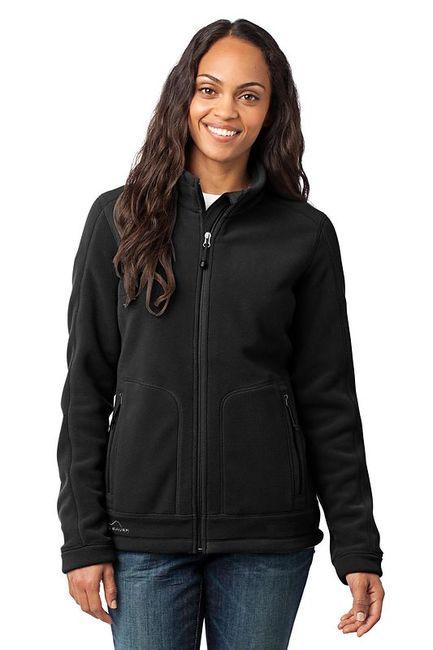 Eddie Bauer - Ladies Wind Resistant Full-Zip Fleece Jacket