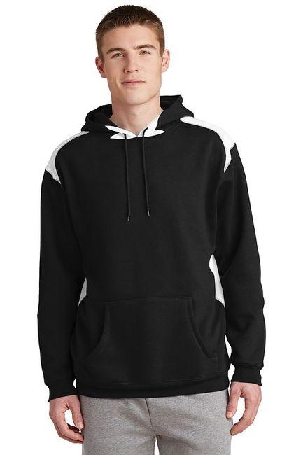 Sport-Tek - Pullover Hooded Sweatshirt with Contrast Color