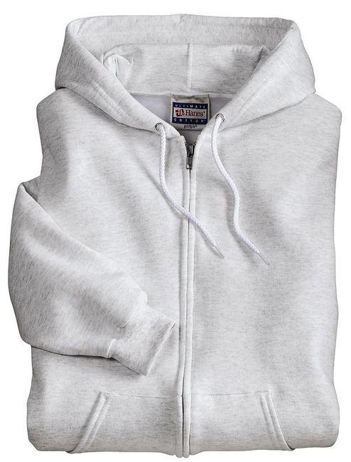 Hanes Ultimate Cotton - Full-Zip Hooded Sweatshirt