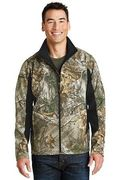 Port Authority Camouflage Colorblock Soft Shell