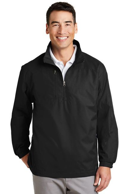 Port Authority - 1/2-Zip Wind Jacket