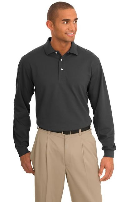 Port Authority - Rapid Dry Long Sleeve Polo