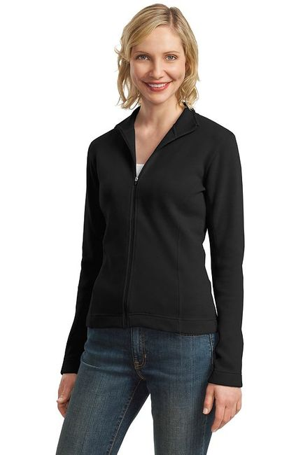 Port Authority - Ladies Flatback Rib Full-Zip Jacket