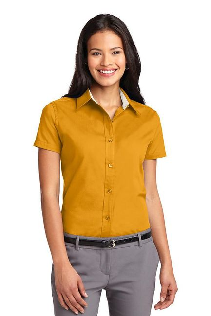 Port Authority - Ladies Short Sleeve Easy Care  Shirt
