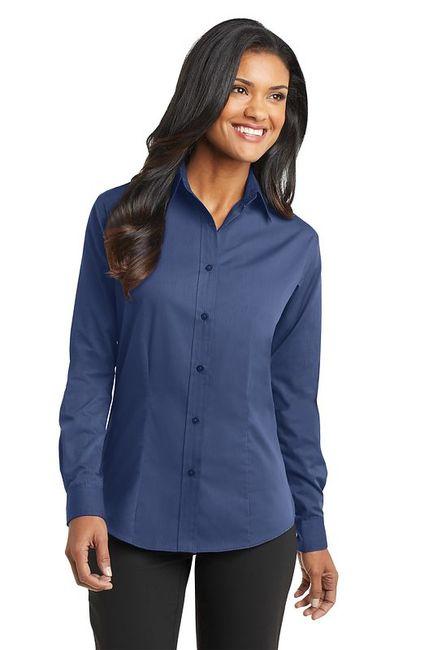 Port Authority - Ladies Tonal Pattern Easy Care Shirt