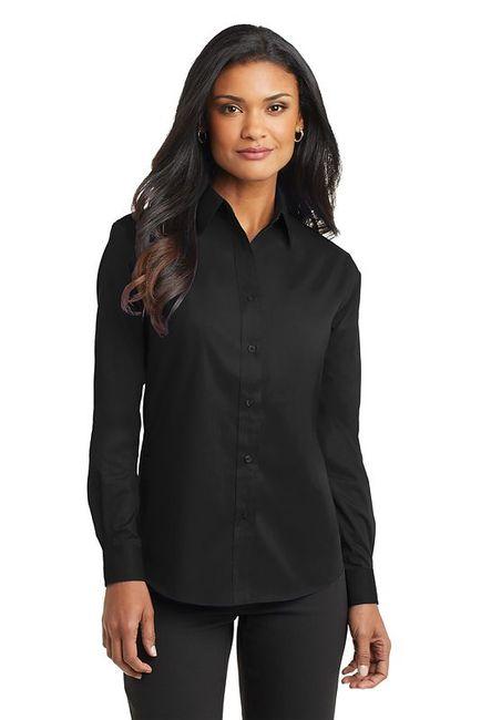 Port Authority - Ladies Long Sleeve Value Poplin Shirt