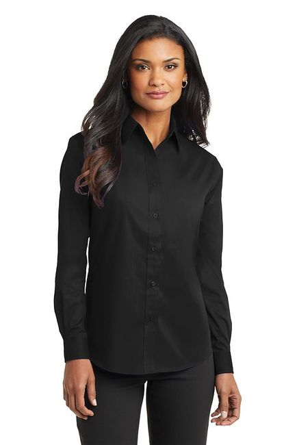 Port Authority - Ladies Long Sleeve Value Poplin Shirt