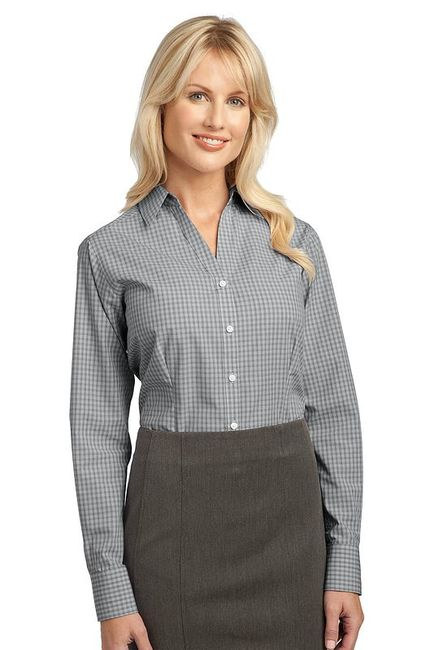 Port Authority - Ladies Plaid Pattern Easy Care Shirt