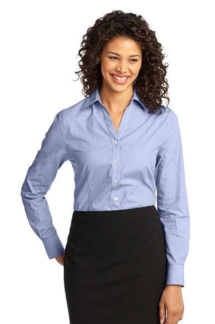 Port Authority - Ladies Crosshatch Easy Care Shirt
