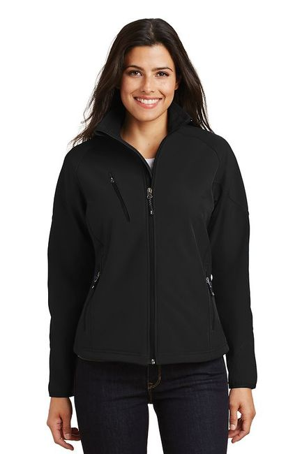 Port Authority - Ladies Textured Soft Shell Jacket