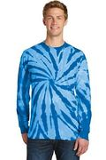 Port & Company Tie-Dye Long Sleeve Tee