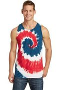 Port & Company Tie-Dye Tank Top