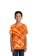 Port & Company - Youth Tiger Stripe Tie-Dye Tee