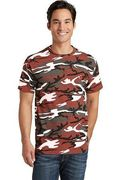 Port & Company Core Cotton Camo Tee