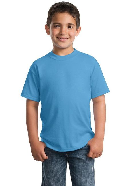 Port & Company - Youth 50/50 Cotton/Poly T-Shirt
