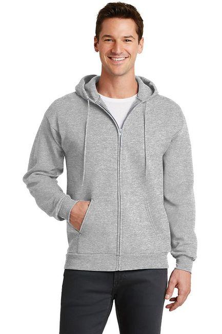 Port & Company - Classic Full-Zip Hooded Sweatshirt