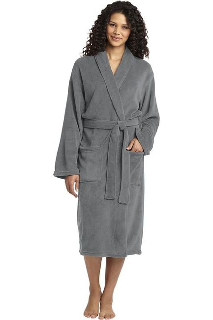 Port Authority Plush Microfleece Shawl Collar Robe