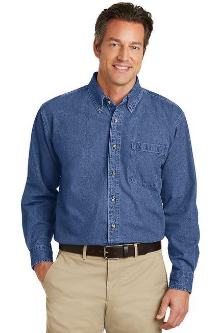 Port Authority - Heavyweight Denim Shirt