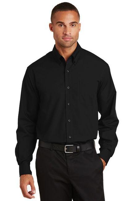 Port Authority - Long Sleeve Value Poplin Shirt