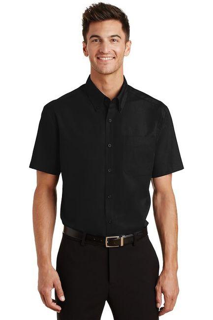 Port Authority - Short Sleeve Value Poplin Shirt