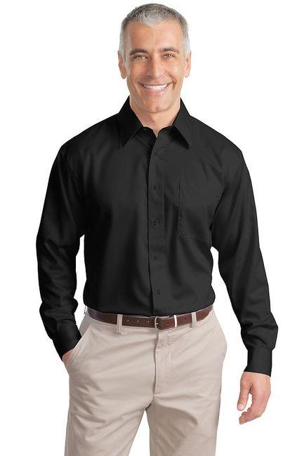 Port Authority - Long Sleeve Non-Iron Twill Shirt