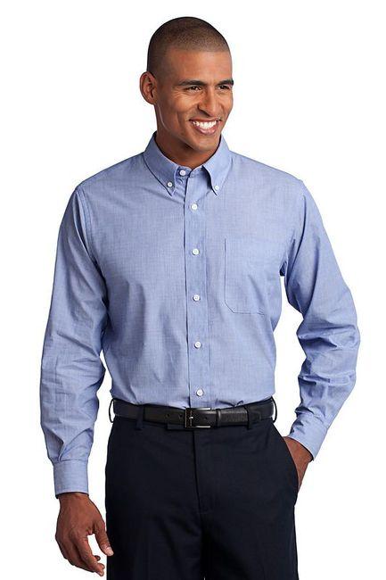 Port Authority - Crosshatch Easy Care Shirt