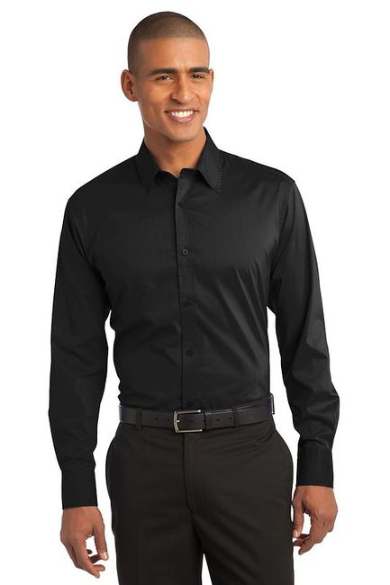 Port Authority - Stretch Poplin Shirt