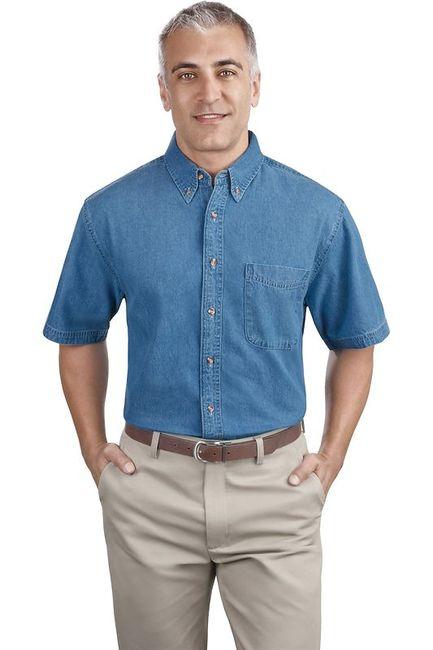 Port & Company - Short Sleeve Value Denim Shirt