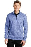 Sport-Tek PosiCharge Electric Heather Fleece 1/4-Zip Pullover