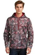 Sport-Tek Sport-Wick Mineral Freeze Fleece Hooded Pullover
