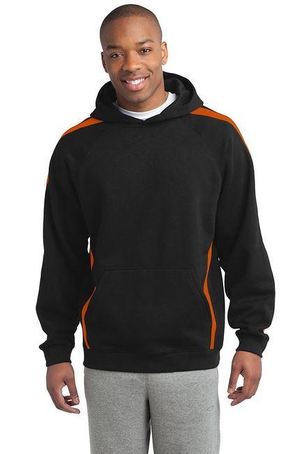 Sport-Tek - Sleeve Stripe Pullover Hooded Sweatshirt