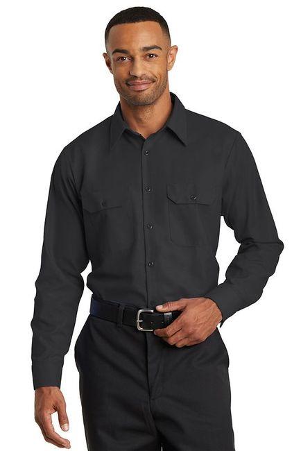 Red Kap Long Sleeve Solid Ripstop Shirt