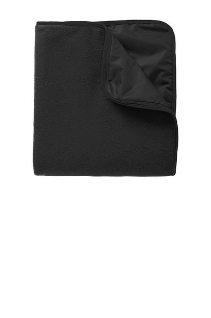 Port Authority Fleece & Poly Travel Blanket