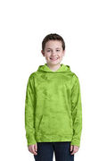 Sport-Tek Youth Sport-Wick CamoHex Fleece Hooded Pullover