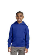 Sport-Tek Youth Sport-Wick Fleece Hooded Pullover