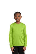 Sport-Tek Youth Long Sleeve PosiCharge Competitor Tee