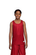Sport-Tek Youth PosiCharge Mesh Reversible Tank