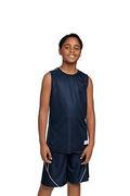 Sport-Tek Youth PosiCharge Mesh Reversible Sleeveless Tee