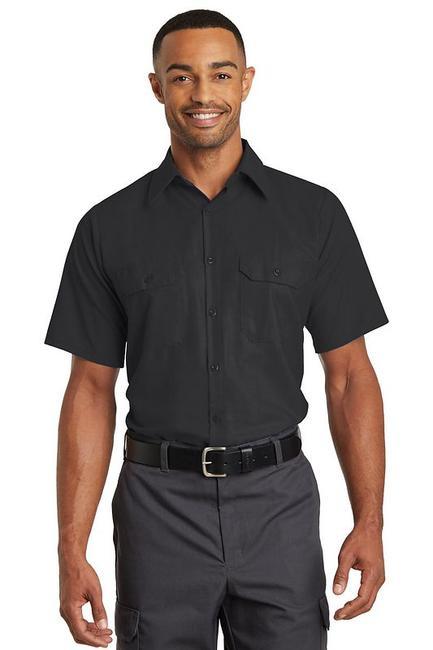 Red Kap Short Sleeve Solid Ripstop Shirt