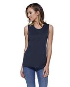 Ladies' Cotton Muscle T-Shirt