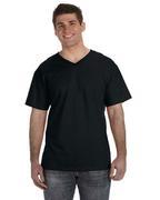 Adult 5 oz. HD Cotton V-Neck T-Shirt